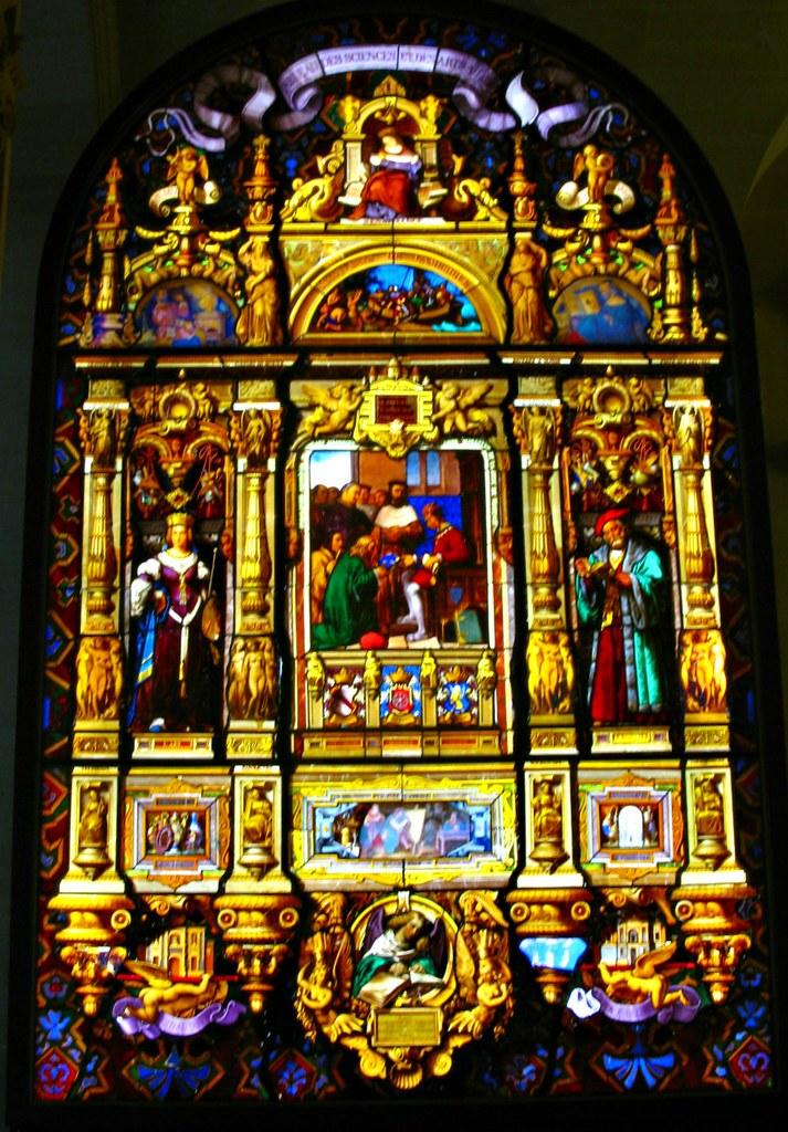 Painted Glass Window Exhibit @ The Louvre Museum, Paris