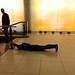 Martine Viale, Ma intervalle (espace souterrain), Art souterrain, 1er mars 2014, Montréal