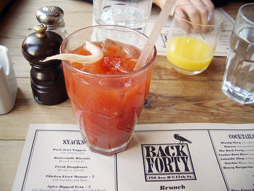 bloody mary @ back forty