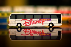 Walt Disney World - The Buses (Matt Pasant) Tags: bus canon toy epcot bokeh waltdisneyworld magickingdom disneysanimalkingdom waltdisney disneytransportation canonef50mmf14usm reedycreek niftyfifty 40d canon40d disneyphotochallengewinner