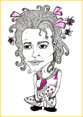 Style Clinic Helena Bonham Carter by SUPERSWEET Magazine