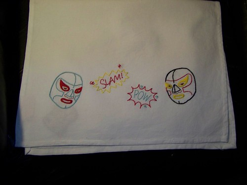 Nacho Libre Tea Towel
