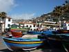 Camara de Lobos X (ichbinsEvi) Tags: blue portugal island boote blau hafen madeira panasoniclumix panasonicdmclz10
