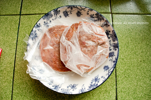 [20090123]漢堡肉退冰
