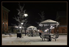 Table of Ice (John Barrie Photography) Tags: nightphotography frozen cincinnati mason snowstorm streetphotography oh comets icecycles cincy winterblast masonohio snowice frozentree johnbarrie snowstorm2009 johnbarriephotography 2009icestorm icestormcincinnati tablecoveredwithice mainstreetmason smalltownphotos velocityphotography cincinnatisuburbs cincinnatiicestorm