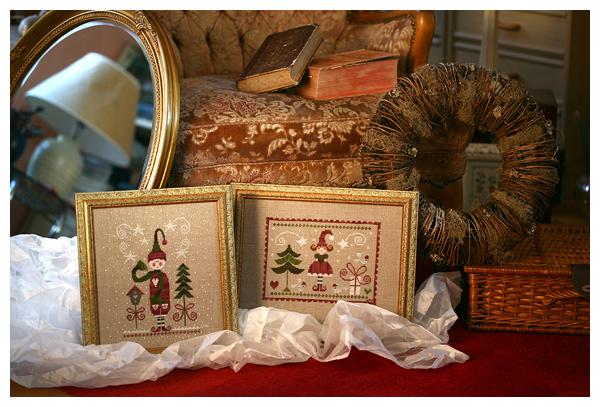 La Mère Noël and Lutin de Noel (Tralala)