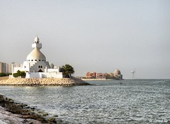 Mosque (Waleed Aldakhil) Tags: sea mosque waleed             aldokhail