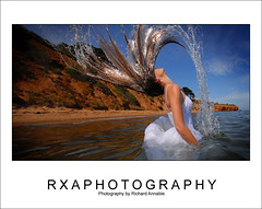 Natalie (RXAphotos) Tags: wedding beach water trash hair dress richard natalie flick annable the rxa rxaphotography