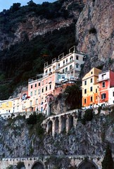 Amalfi, Italy (tvordj) Tags: italy architecture cityscape lookingup colourful onfilm pfogold challengefactorywinner thechallengefactory yourock2nd