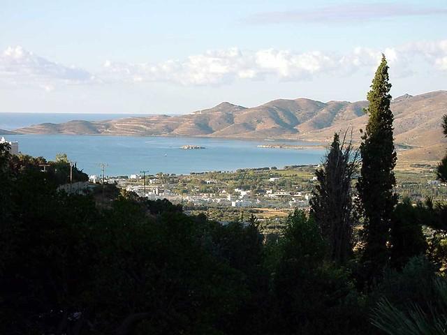 Στερεά Ελλάδα - Εύβοια - Δήμος Καρύστου Ο όρμος της Καρύστου από την Γραμπιά