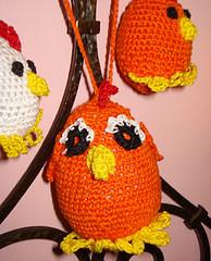 pulcino di pasqua arancione e baby (uncinetto_patrizia) Tags: e di pasqua uova pulcini alluncinetto