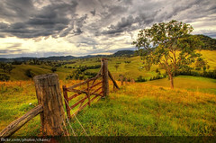 Barrington Tops National Park, Sydney (Christopher Chan) Tags: canon fence australia nsw newsouthwales 1022mm hdr hunte