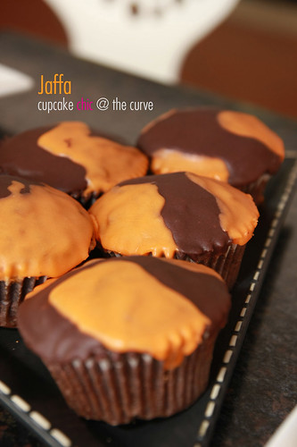 Jaffa - Chocolate orange cake with chocolate orange glaze