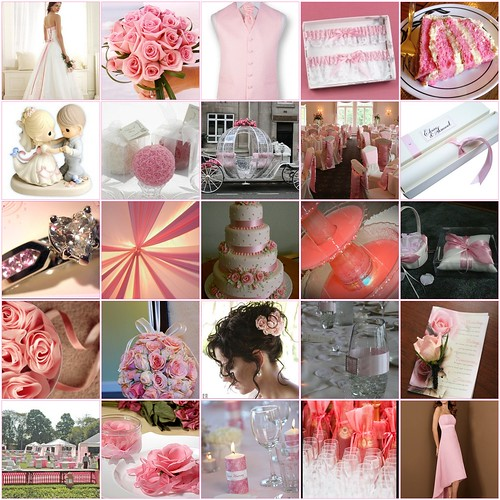 What color theme will you use for your wedding Pink could go anytime of the
