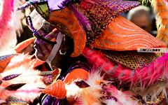 where are ...? (jmnuel) Tags: street carnival pink orange colors girl hat calle mujer gorro colores mascara sombrero naranja caranaval