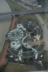 building next to Rhine -      (tolisk9) Tags: germany dusseldorf