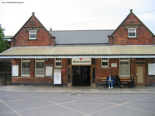 Train Chartering - Westbury Station, England renamed Macclesfield  for Elijah Wood movie