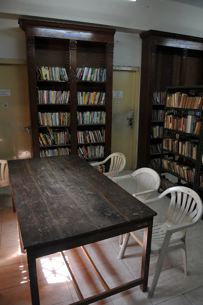 PONDICHERRY 公共圖書館 - ROMAIN ROLLAND LIBRARY