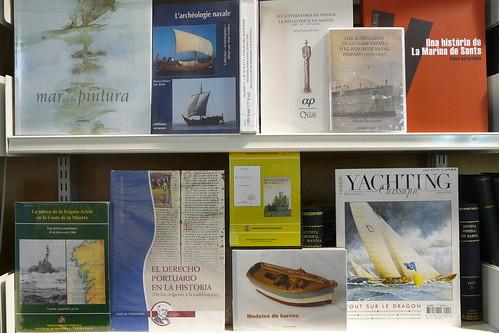 Biblioteca Museu Maritim de Barcelona. Març 2009