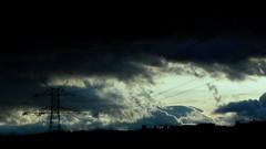 Torre 1/Tower 1 (Joe Lomas) Tags: leica sunset tower electric clouds atardecer torre dusk cielo nubes tormenta puestadesol tension ocaso anochecer highvoltage voltage electrica altatension voltaje torredealtatension altovoltaje therebeastormabrewin cielodetormenta photostakenwithaleica leicaphoto