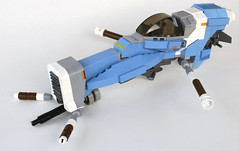 Somtaaw Scout (Chase Lewis [Vid]) Tags: classic ship lego space inspired scout custom homeworld moc starfighter foitsop somtaaw