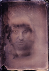 Natalie H. (Witness to Light) Tags: uk portrait glass girl vintage alternative glassnegative alternativeprocess altprocess collodion wetplatecollodion witnesstolight wetpaltecollodion alternativeprcoess