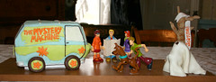 The Mystery Machine (FostersFrostings) Tags: show birthday cakes cake mystery baking tv video ghost cartoon machine homemade decorating series scoobydoo doo scooby sculpted sculpt