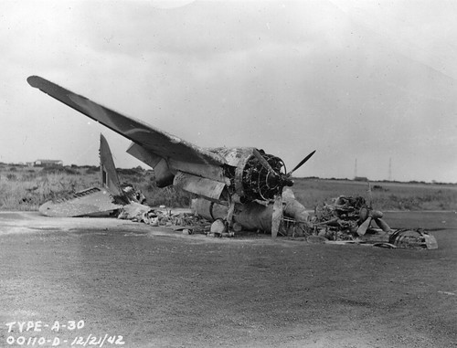 world war 2 pictures of planes. Wrecked aircraft during World