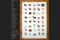Mid-Century Modern Furniture Poster by J Provost_1239322280259