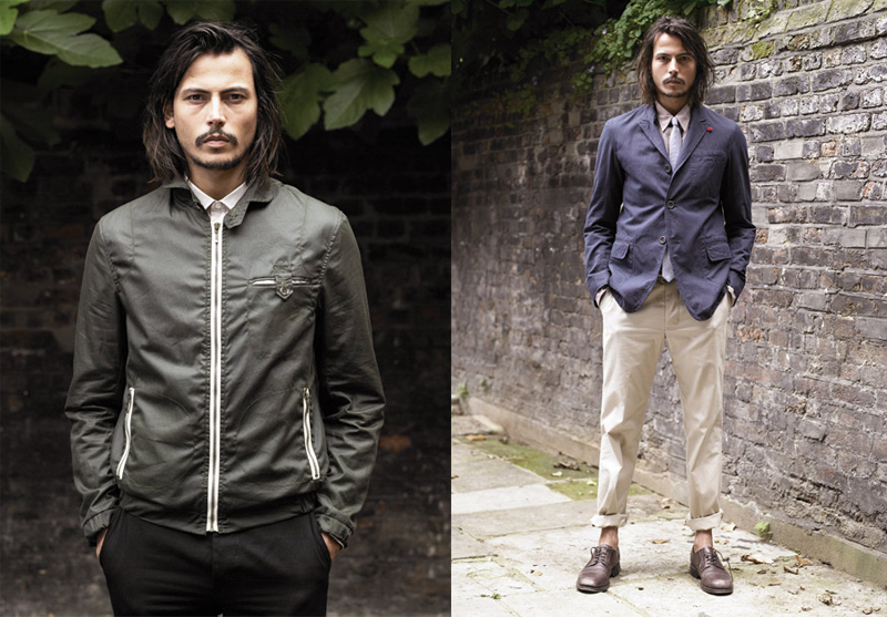 Johnny Depp for Oliver Spencer Spring 2009