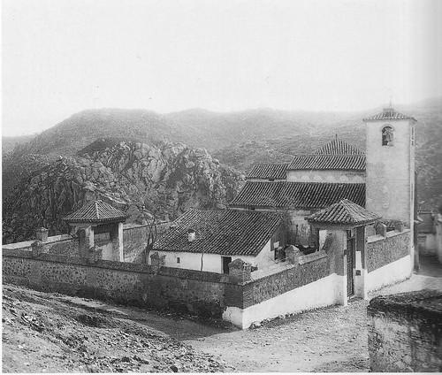 Iglesia de San Lucas de Toledo a principios del siglo XX. Archivo Rodríguez.