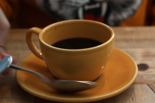 The Yellow Coffee Cup