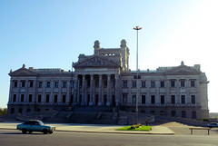 Palacio Legislativo | Montevideo (wazari) Tags: travel building art history tourism southamerica car architecture uruguay place destination historical montevideo palaciolegislativo interestingplace wazari legislativepalace