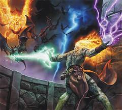 21 (Kryx7) Tags: male wizard warlock caster sorcerer genasi