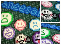 Bead emoticons