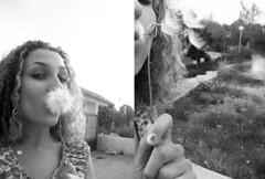 152/365 Dandelion on steroids (VirGeenya) Tags: españa beach countryside spain arboles playa dandelion lemons murcia campo lamanga marmenor cartagena day152 365days marmayor