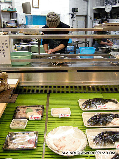 You need to be highly trained to prepare fugu meat, removing the poison