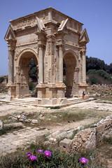 Leptis Magna (Alan1954) Tags: africa holiday roman ruin restoration archway libya 2009 leptismagna romanruin mywinner theperfectphotographer