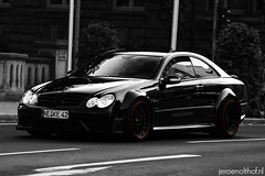 Mercedes-Benz CLK 63 AMG Black Series (Jeroenolthof.nl) Tags: bw white black color car yellow modern germany deutschland photography grey lights mercedes benz is movement jeroen nikon view shot d70 rear d70s s automotive super 63 german 200 mercedesbenz coloring if paparazzi series brake nikkor dusseldorf 80 dsseldorf zwart wit exclusive f28 supercar duesseldorf amg duitsland selective clk 80200 k knigsallee zw caliper calipers automotion olthof konigsallee wwwjeroenolthofnl jeroenolthofnl jeroenolthof