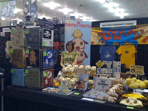 All ready! Dealers room is opening now! Come visit us at booth 601! #fanime #fanimecon