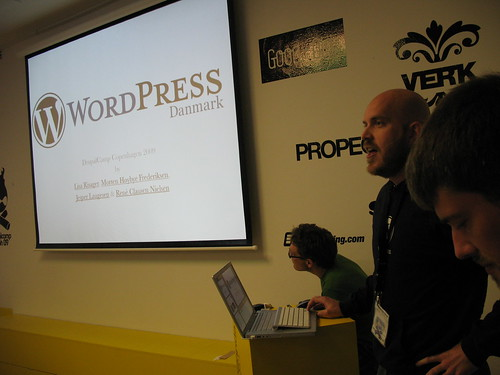 WordPress at DrupalCamp