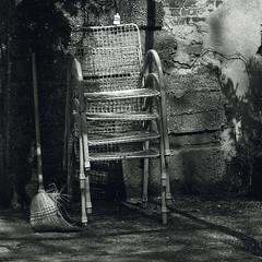 DSC_0026 (Oriana Milani (poco tempo)) Tags: bw white black nikon chairs bn sedie bianco nero neroamet
