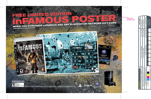 inFAMOUS Limited Edition Poster