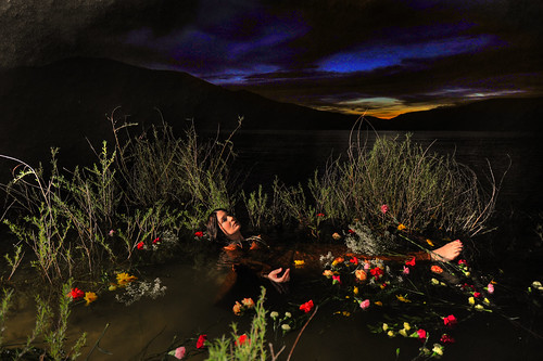 Shakespeare's Ophelia is a dark&moody thing