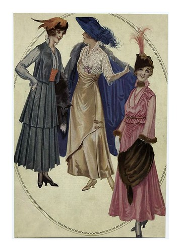 007-Sombreros con plumas 1915