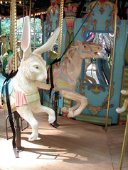 Bryant Park Carousel! 11