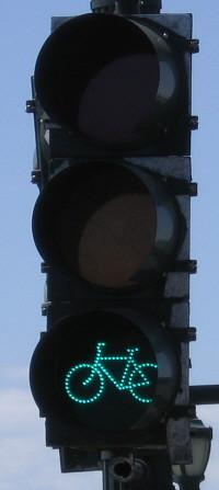 Bike traffic signal