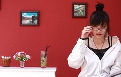 [フリー画像] [人物写真] [女性ポートレイト] [アジア女性] [眼鏡/メガネ]       [フリー素材]