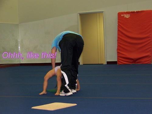 June 09 First Gymnastics Class  005