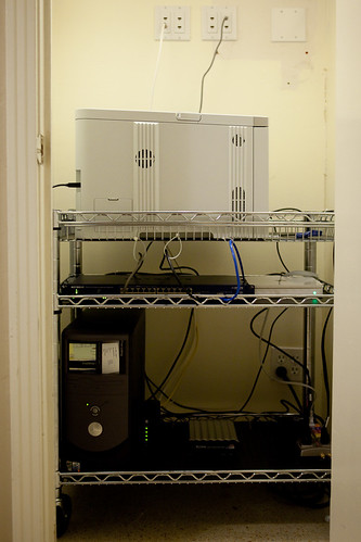The franken-server and the server closet